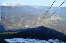 View of Jasper from the tram